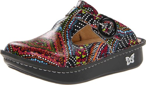 Alegria Women's Donna Clog,Electro Native,35 Eu/5-5.5 M US