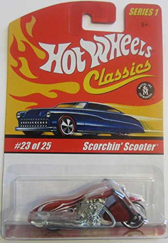 (Hot Wheels Scorchin' Scooter Classics Series 1 - Copper 23 of 25)