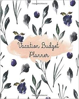 vacation budget planner bill tracker travelers notebook financial