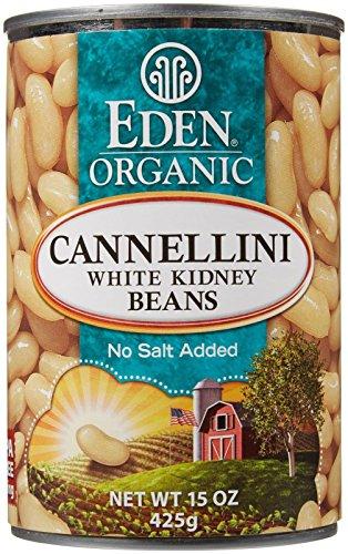 Eden Cannellini Beans (white kidney) - 15 oz (Cannellini Beans Organic compare prices)