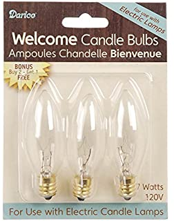 Automatic window candle lights electric window candles with timer.