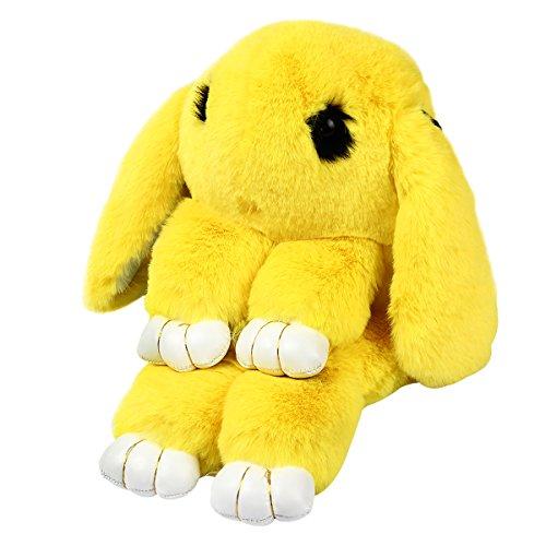 Bag Cute Women Fur Body Bag Messenger Tote Yellow Rabbit Cross Handbag Shoulder Yodensity Purse Faux wfqdYw