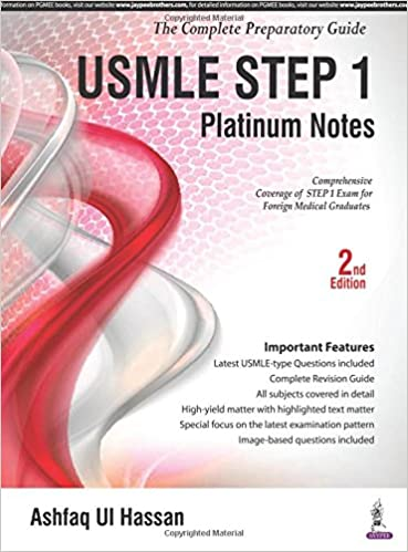 USMLE Platinum Notes Step 1: The Complete Preparatory Guide