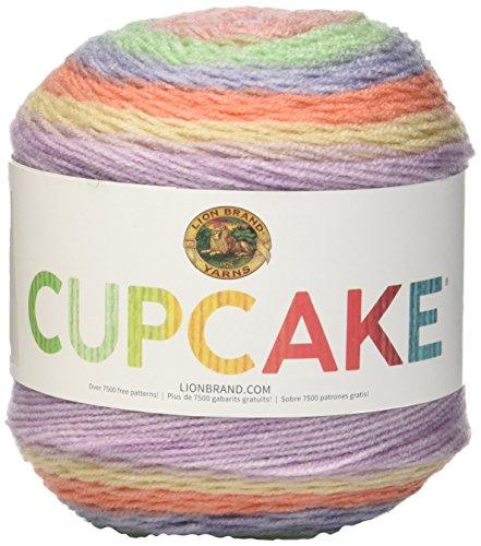 Lion Brand Yarn 935-205 Cupcake Yarn, Gelato