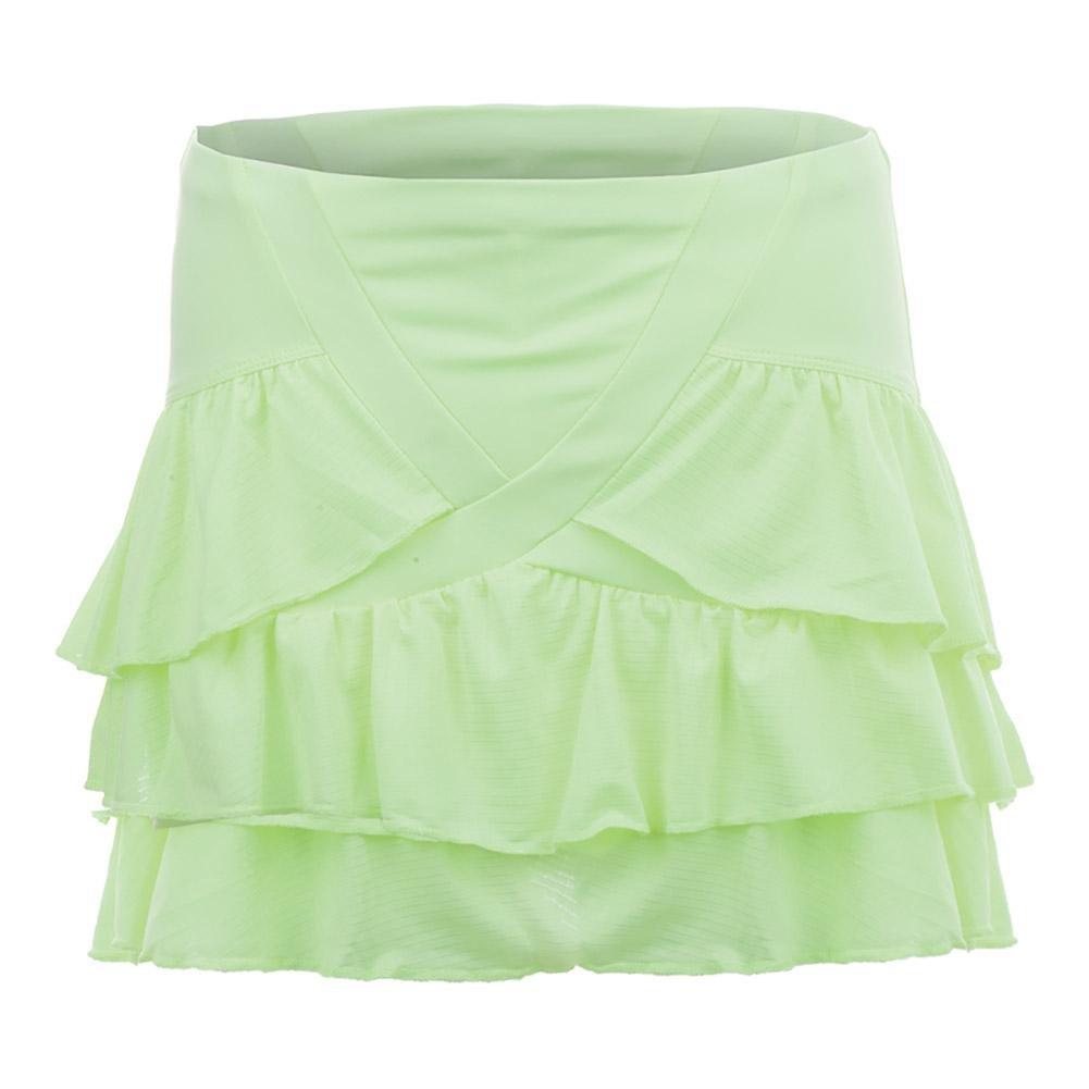 Lucky In Love Haviana Rush Tier Skirt Lemon Frost (Medium)