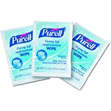 PURELL Cottony Soft Hand Sanitizing Wipes, Individually Wrapped, 1000 Individual Sanitizing Wipes in Bulk Packed Shipper (Case of 1000) - 9026-1M