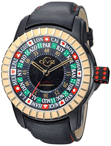 GV2-by-Gevril-Mens-Lucky-7-Automatic-Stainless-Steel-and-Leather-Casual-Watch-ColorBlack-Model-9307