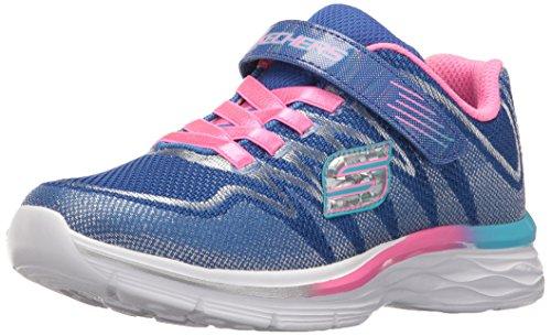 Skechers Kids Girls' Dream N'Dash-Whimsy Sneaker,Blue/Pink,