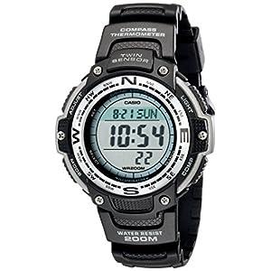 Casio Men's SGW100-1V Twin Sensor Digital Black Watch