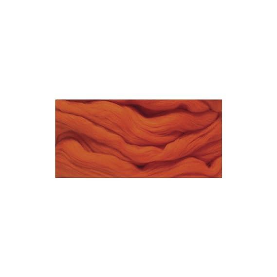 rosa RAYHER 5365516 Merino-Kammzug superfein SB-Blister 50 g 18 mic