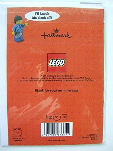 Price comparison product image Lego joke BLANK card by Hallmark, 10996155