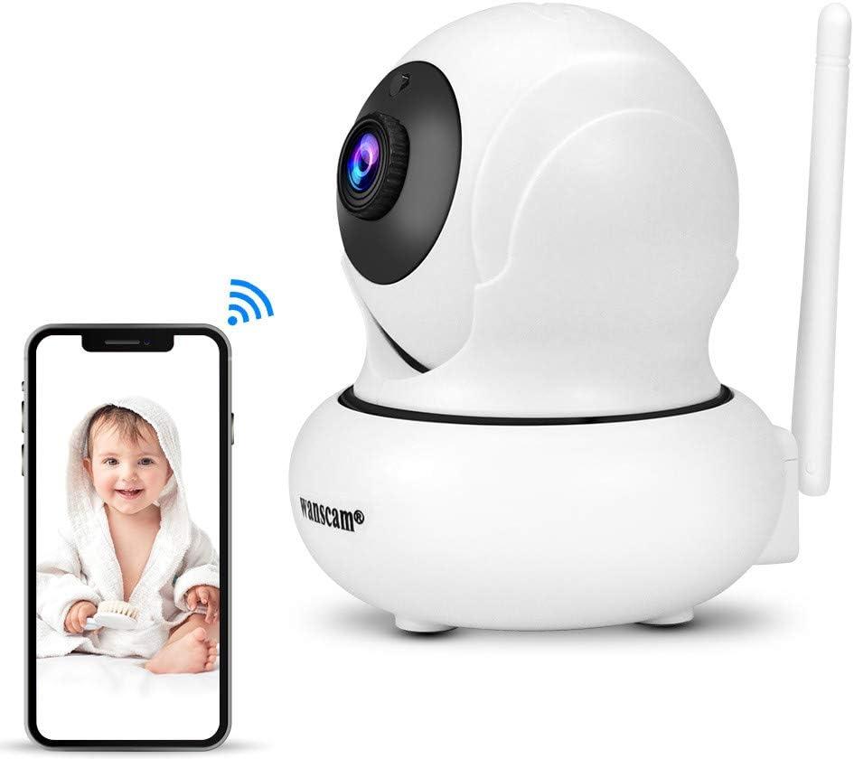 Seguimiento de rostros Hdliang WiFi C/ámara IP inal/ámbrica Interior 1080P HD Mini Monitor de beb/é Vigilancia de Seguridad C/ámara de Video 2MP Control PTZ Wanscam K21 Red P2P Zoom 4X
