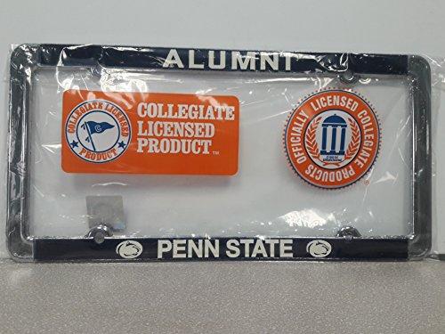 New - Penn State Nittany Lions Alumni Metal License Plate Frame - Auto Car Truck Chrome Noles FSU