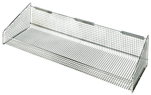 Quantum Storage Systems 1035HBC Hanging Basket for Wire Partition Wall System Units 11 x 35-1/2 x 7-3/8 [並行輸入品]   B077JP3WX7