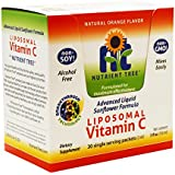 Liposomal Vitamin C 30 Single Dose Packets| 1000 mg | Alcohol Free | Non-Soy | Non-GMO | Made in USA