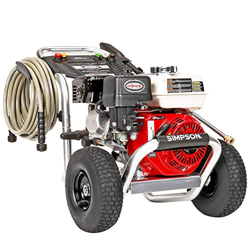 SIMPSON Cleaning ALH3425 Aluminum Gas Pressure Washer Powered by Honda