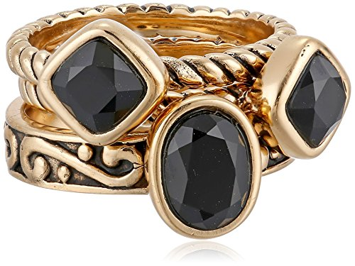 Faux Onyx Ring - Barse
