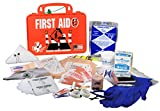 Certified Safety K612-152 18PO Road Deluxe First Aid Kit in Poly Orange