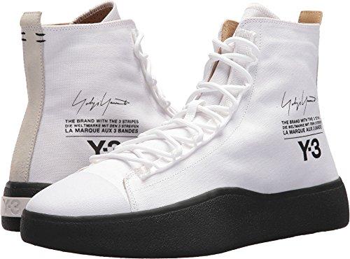 adidas Y-3 by Yohji Yamamoto Unisex Bashyo Footwear White/Core Black/Core Black 9 M UK