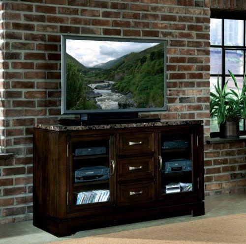 Standard Furniture Bella TV Console w/Marbella Top