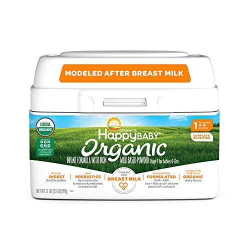 Happy Baby Organic Infantmula
