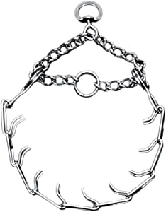 Coastal Pet Chrome-Plated Chain Choke Training Dog Collar, 20-Inches by 3.3 mm Heavy Links ,1-Pack
