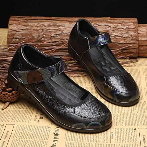couleur Qiusa Noir 41 Noir Taille Shoes Eu wqc5qzPC