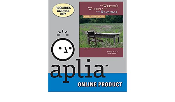 Amazon aplia for scarryscarrys the writers workplace with amazon aplia for scarryscarrys the writers workplace with readings building college writing skills 8th edition courses fandeluxe Image collections