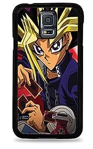 327 Yu Gi Oh Samsung Galaxy S5 Hardshell Case - Black