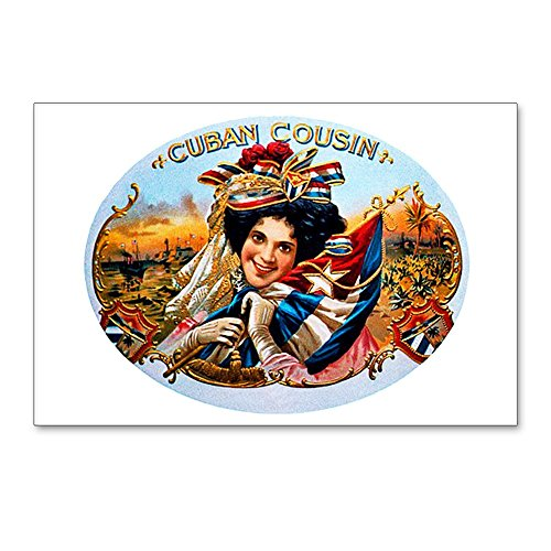 CafePress - Cuban Cousin Cigar Label - Postcards (Package of 8), 6