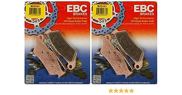 MXS181 EBC Brakes MXS Series Race Sintered Brake Pads