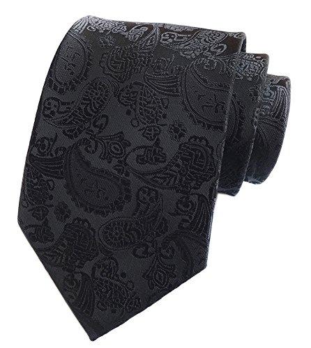 Jacquard Woven Silk Tie Prom Dance Formal Necktie Xmas Gifts (Xmas Necktie)