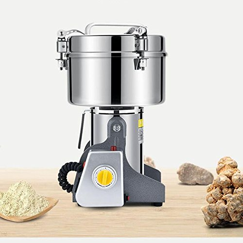 BEACON PET 220V 550W Stainless steel 2500g large powder milling machine ultra - fine grinding machine Chinese medicine grinder household electric milling machine