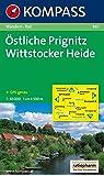Östliche Prignitz - Wittstocker Heide: Wanderkarte mit Radrouten. GPS-genau. 1:50000 (KOMPASS-Wanderkarten, Band 861)