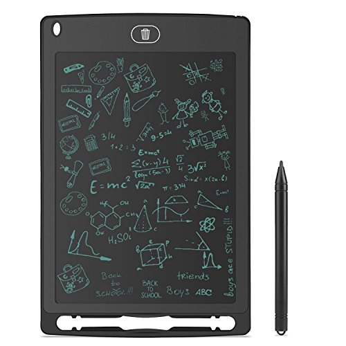 YOHOOLYO Writing Tablet 8.5 Inch LCD Electronic Board eWriter with Pen Black by YOHOOLYO