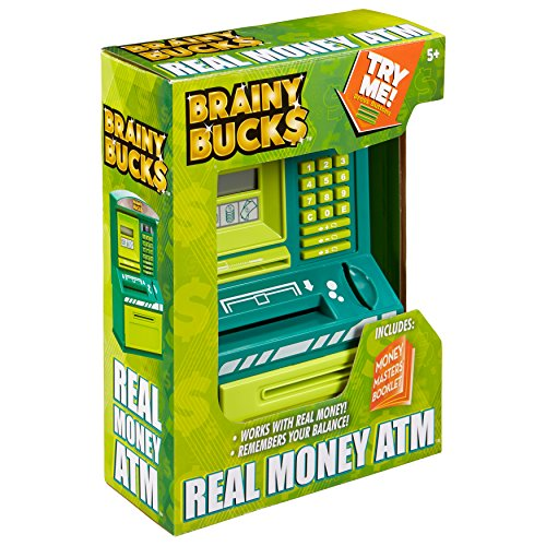 Brainy Bucks Real Money ATM Toy