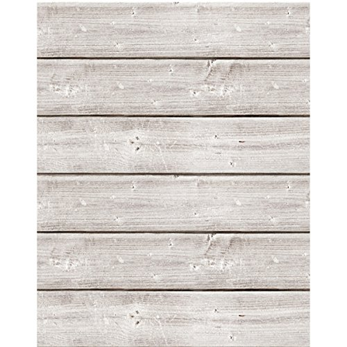 Jillibean Soup Mix The Media Wooden Plank-18x24 Weathered White