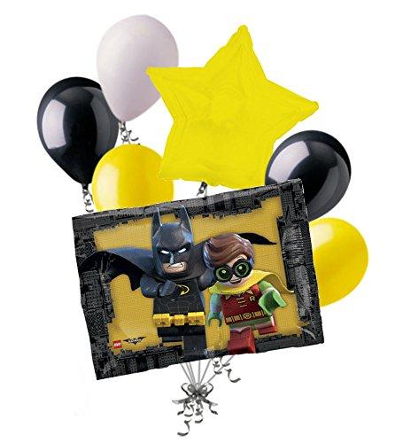 Batman Balloon Bouquet Decoration Birthday