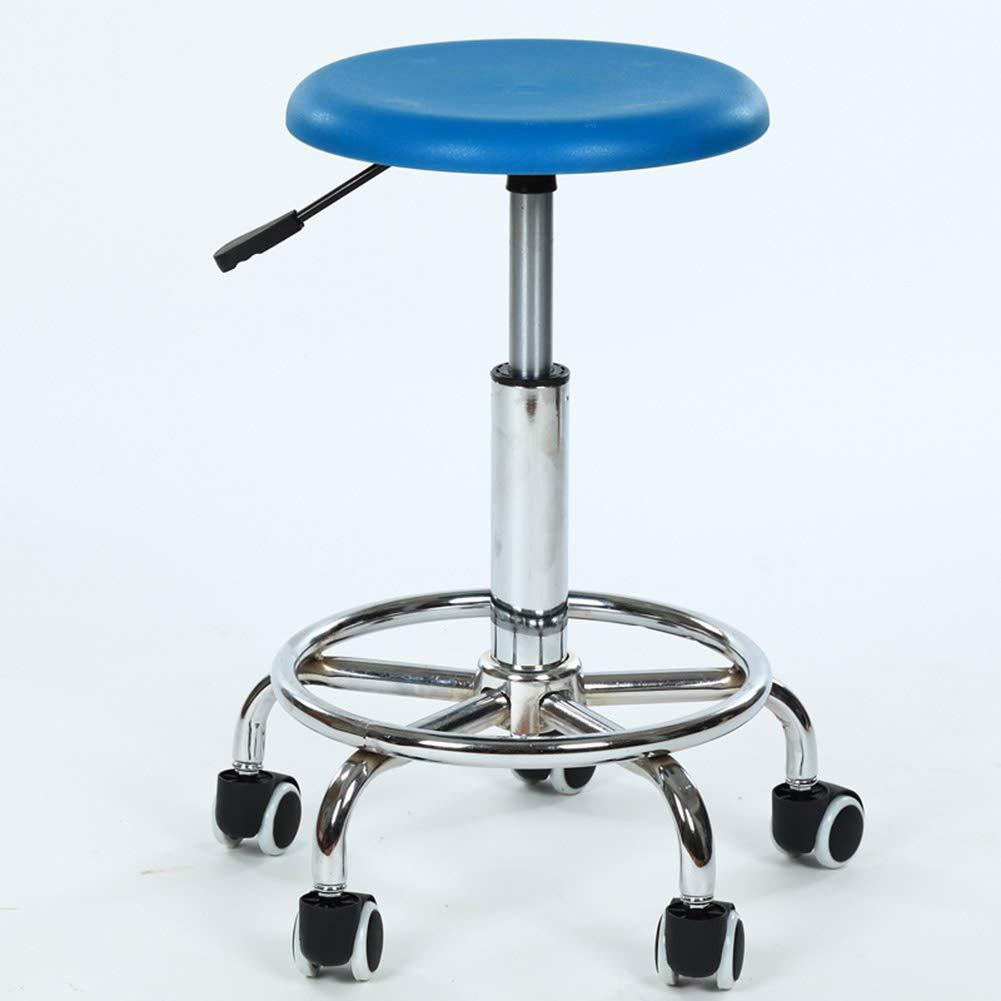 Tabouret rond de travail de laboratoire de laboratoire de laboratoire de travail de fonctionnement de chaise de barre d'opération de mode de chaise,A B