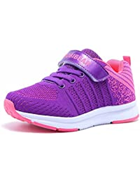 Kids Lightweight Sneakers Girls Casual Running Shoes