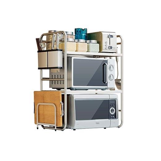 TLMY - Estante de Cocina de Acero Inoxidable para microondas ...