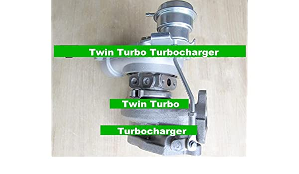 GOWE Turbocompresor para pares Twin Turbo td04 49177 - 02300 49177 - 02400 Turbocompresor para Mitsubishi gto3000gt Eclipse Galant Dodge Stealth 91 - 03 6 ...