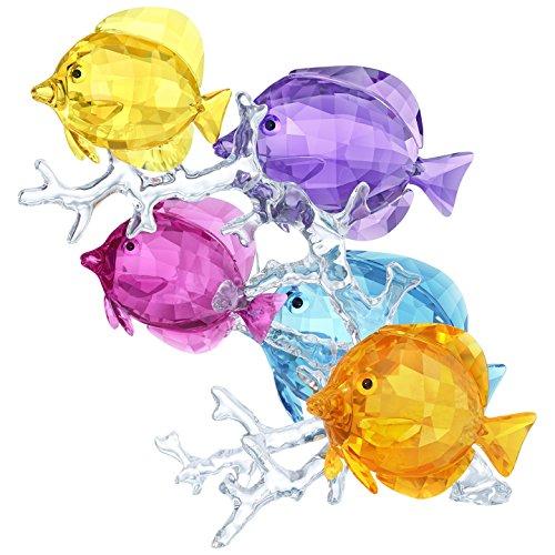Swarovski Rainbow Fish Family Collectible Figurine (Swarovski Fish)