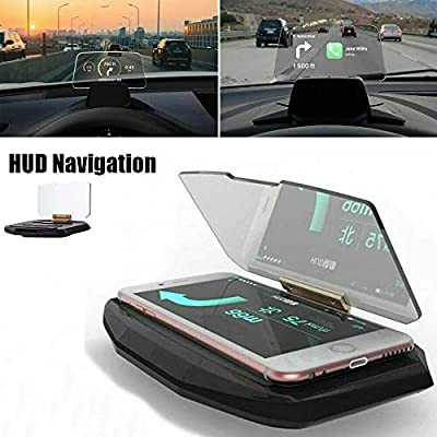 MEBOCA Head Up Display (HUD) Proyector de navegación GPS para ...