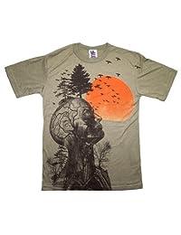 Human Tree Hangover T-Shirt Large