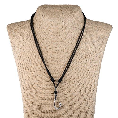 Metal Pendant Adjustable Necklace Chrome product image