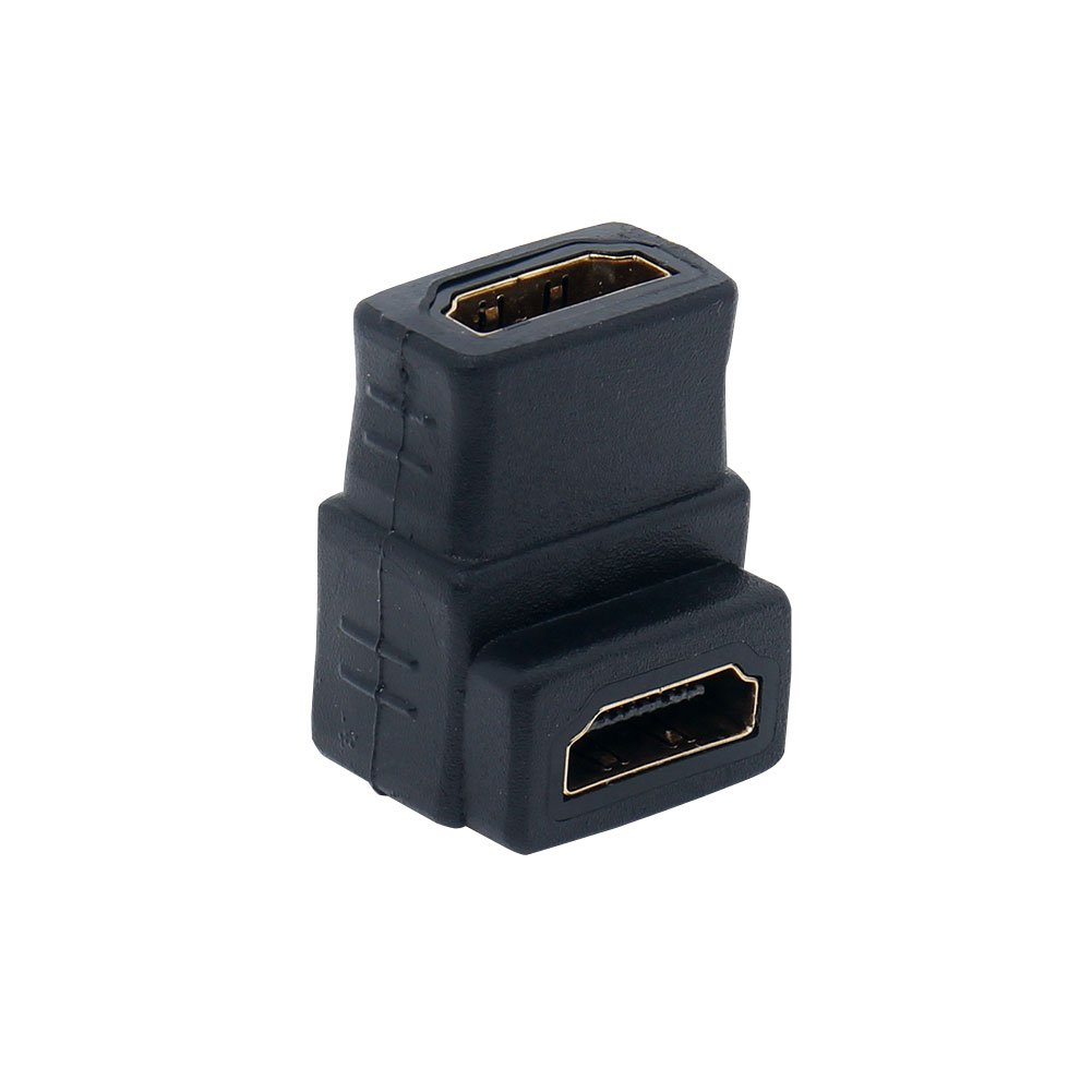 VILICONTY 270 Degree HDMI Male to Female Couplers Gold Plated Adapter Angled HDMI Coupler