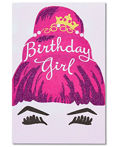 American Greetings Fabulous Day Birthday Greeting Card for Her with Glitter and Foil