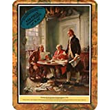 Learning History Series 255 Piece Puzzle - Declaration of Independence (1983) by Channel Craft