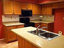 ... com: Customer Reviews: Rust-Oleum Countertop Transformations Kit, Onyx